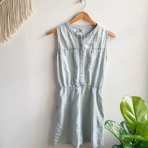 Merona Denim Style Dress Blue Sz. XS
